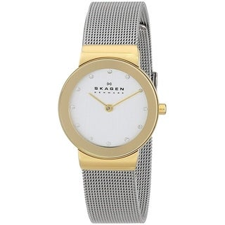 Skagen Women's 358SGSCD Silver Stainless Steel Quartz Watch