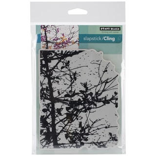 Penny Black Cling Rubber Stamp 5inX7.5in Sheet-Soft Whisper