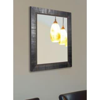 American Made Rayne Italian Ebony Vanity Wall Mirror