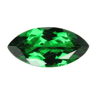 Marquise-cut 6.4x13.1mm 2 3/8ct TGW Tsavorite