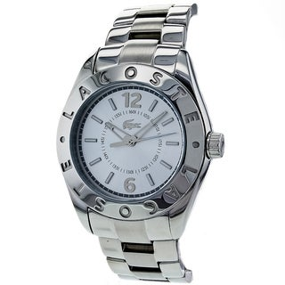 Lacoste Men's Classic Stainless Steel Silver Dial Watch