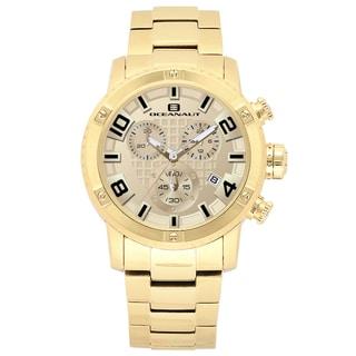 Oceanaut Men's Goldtone Stainless Steel Impulse Chronograph Watch