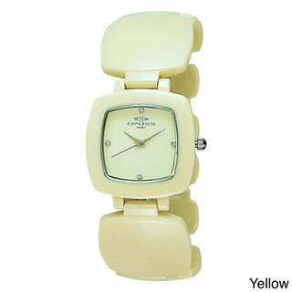 Oniss Women's Beauty Collection Watch (Option: Yellow)
