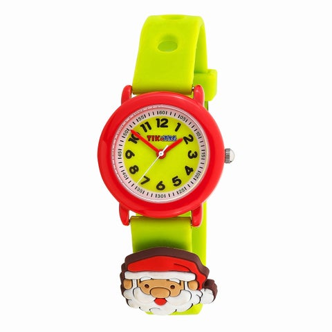 Kids' Alloy Christmas Adornment Strap Watch