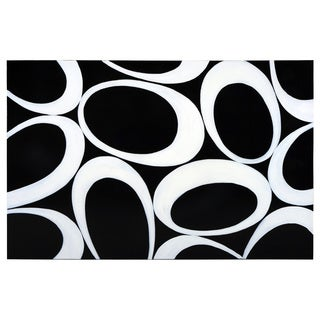 Sunpan 'Ikon' 'Black Olives' Canvas Art