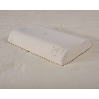 Organic Cotton Hypoallergenic Contouring Latex Foam Pillow