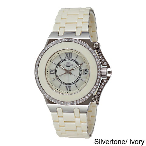 Oniss Women's Stainless Steel Fantasy Collection Watch