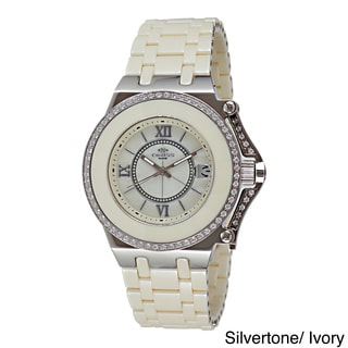 Oniss Women's ON669-L Stainless Steel Fantasy Collection Watch (Option: White)