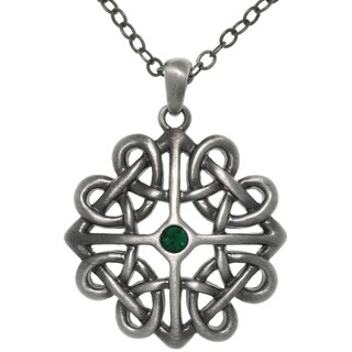 Pewter Crystal Rhinestone Celtic Heart Knot Pendant Necklace|https://ak1.ostkcdn.com/images/products/9234109/P16402523.jpg?_ostk_perf_=percv&impolicy=medium