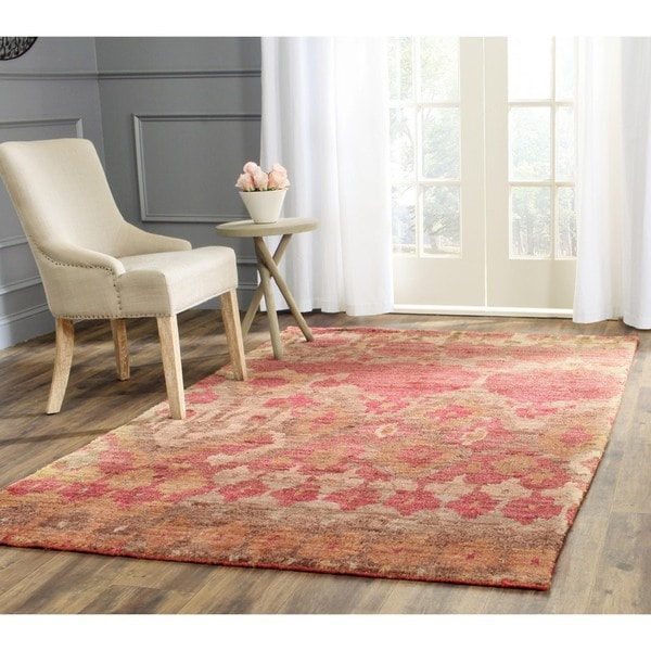 Safavieh Hand Knotted Bohemian Natural Gold Jute Rug 4