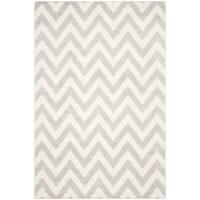 Safavieh Indoor/ Outdoor Amherst Light Grey/ Beige Rug (10' x 14')