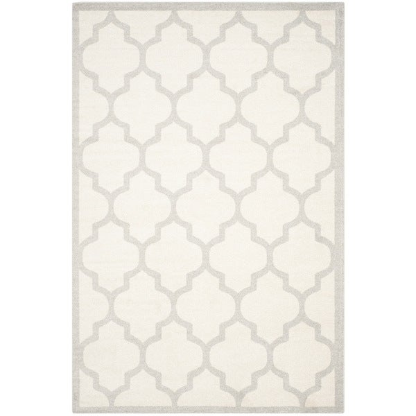 Safavieh Indoor Outdoor Amherst Beige Light Grey Rug 10