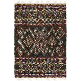 Safavieh Hand-woven Kenya Multicolored Wool Rug (6' x 9')