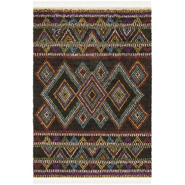 Safavieh Hand-woven Kenya Multicolored Wool Rug - 9' x 12'