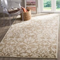 Safavieh Indoor/ Outdoor Amherst Wheat/ Beige Rug - 9' x 12'