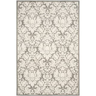 Safavieh Indoor/ Outdoor Amherst Dark Grey/ Beige Rug (9' x 12')|https://ak1.ostkcdn.com/images/products/9234398/P16402627.jpg?impolicy=medium