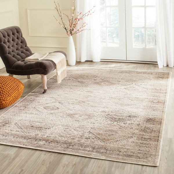 Shop Safavieh Vintage Stone Distressed Silky Viscose Rug