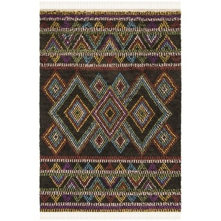 Safavieh Hand-woven Kenya Multicolored Wool Rug (8' x 10')