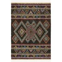 Safavieh Hand-woven Kenya Multicolored Wool Rug - multi - 8' x 10'