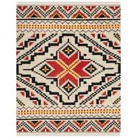 Safavieh Hand-woven Kenya Multicolored Wool Rug - 8' x 10'