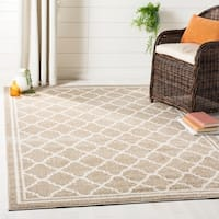 Safavieh Indoor/ Outdoor Amherst Wheat/ Beige Rug - 4' x 6'