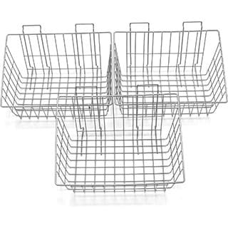 Proslat Wire Storage Baskets (Set of 3)