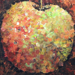 Art in Style 'Modern Apple' Giclee on Canvas Wall Art