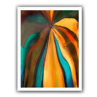 Dean Uhlinger 'Convergence 6' Unwrapped Canvas