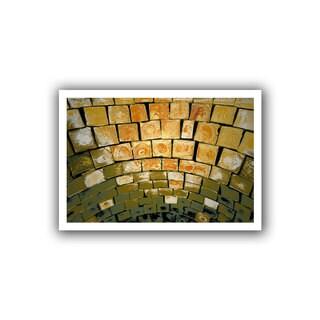 Dean Uhlinger 'Simple Puzzle' Unwrapped Canvas