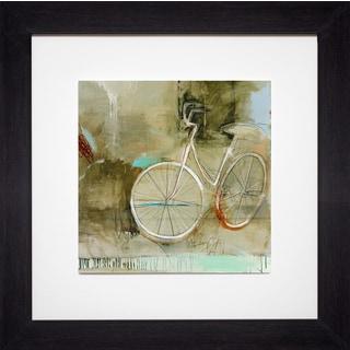 Patrick Wright 'Crazy Bike' Framed Art Print with Mat