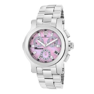 Oceanaut Women's Baccara Stainless Steel Pink Chronograph Watch|https://ak1.ostkcdn.com/images/products/9237325/P16403919.jpg?impolicy=medium