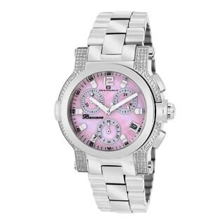 Oceanaut Women's Baccara Pink Dial Stainless Steel Watch