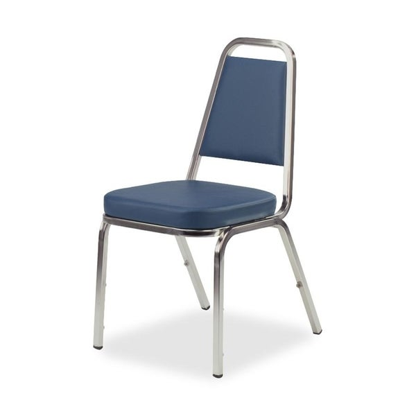 Lorell 8925 Vinyl Upholstered Stacking Chairs (Pack of 4)