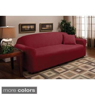 Sanctuary Stretch Microfleece Sofa Slipcover