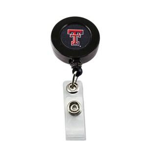 NCAA Texas Tech Red Raiders Retractable ID Badge Holder Clip