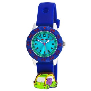 Kids' On The Road Theme Blue Watch with Attachments