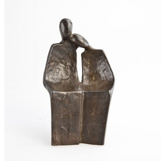 Sweet Couple Bronze Sculpture