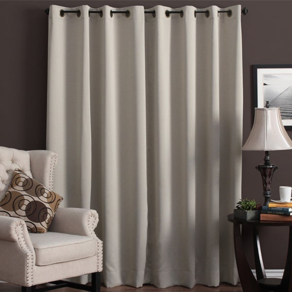Ultimate Blackout Grommet Top Patio Curtain Panel - Ultimate Blackout Grommet Top Patio Curtain Panel - Free Shipping