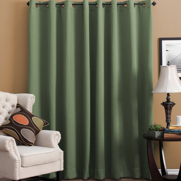 Ultimate Blackout Grommet Top Patio Curtain Panel   112 X 84   Free  Shipping Today   Overstock.com   16404239
