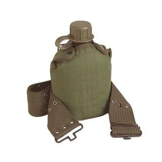 Texsport 1-quart Canteen with Cover and Belt Set|https://ak1.ostkcdn.com/images/products/9237745/P16404261.jpg?impolicy=medium