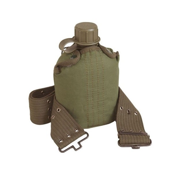Texsport 1-quart Canteen with Cover and Belt Set