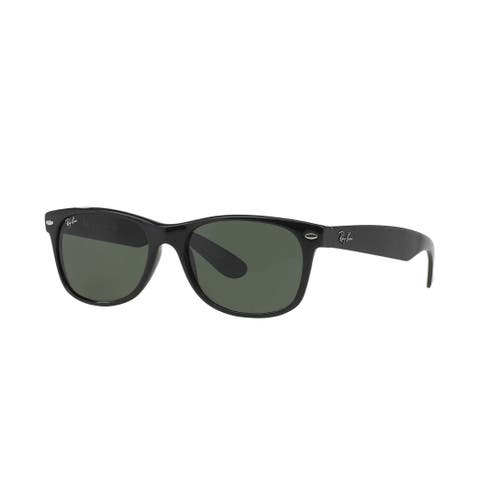 a43c09359b Ray-Ban New Wayfarer RB 2132 Unisex 52 mm Sunglasses - Black