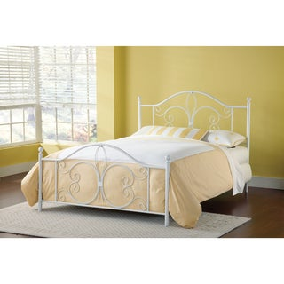 Ruby Textured White Bed Set