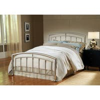 Claudia Matte Nickel Bed Set