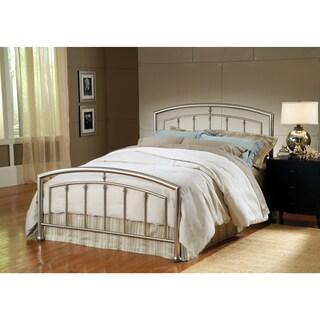 Claudia Matte Nickel Bed Set
