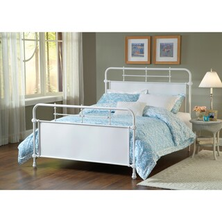 Kensington Old Rust Textured White Bed Set