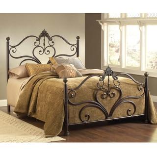 Newton Antique Brown Bed Set