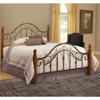 San Marco Brown Copper/ Light Rust Bed Set