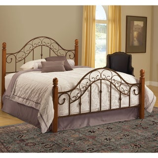 San Marco Brown Copper/ Light Rust Bed Set