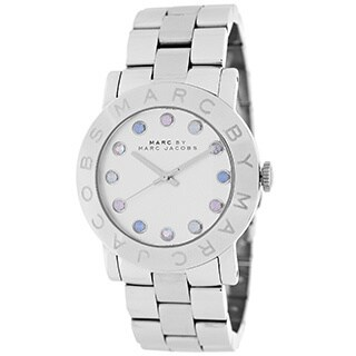 Marc By Marc Jacobs Women's Silvertone Stainless Steel Quartz Watch with Silvertone Dial
